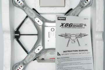 Syma X8G- GoPro Compatible